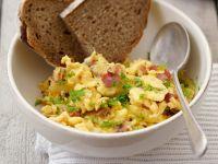 Scrambled Eggs with Ham recipe