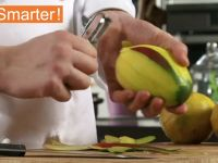 The Best Way To Peel And Cut A Mango In Half