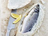 Sea Bass in Salt Crust recipe