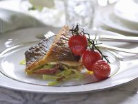 Sea Bass with Cherry Tomatoes recipe