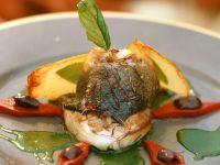 Sea Bass with Parsley Sauce recipe