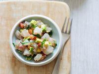 Sea Bream Ceviche with Avocado recipe