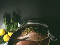 Sea Bream with Mediterranean Herbs and Lemons recipe