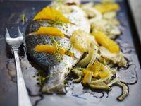Sea Bream with Oranges and Fennel recipe