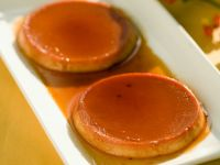 Seaberry Caramel Flans recipe