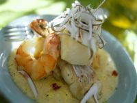 Seafood and Coconut Stew recipe