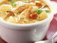 Seafood and Veggie Casserole recipe