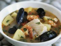 Seafood Broth with Parsley recipe