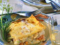 Seafood Lasagna with Béchamel Sauce recipe