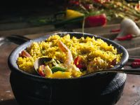 South-east Asian Prawn Rice recipe