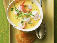 Seafood Soup with Fennel and Saffron recipe
