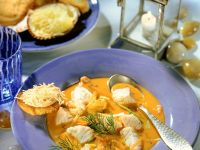Seafood Stew with Saffron recipe