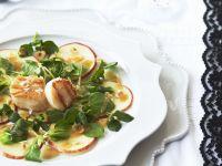 Apple Carpaccio with Scallops recipe