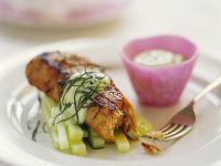 Seared Tuna with Cucumber recipe