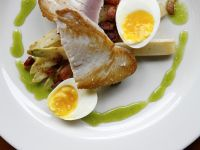 Seared Tuna with Egg recipe