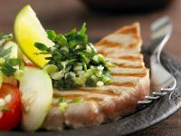 Seared Tuna with Parsley and Lime recipe