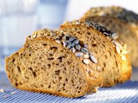 Seeded Rice, Potato and Almond Loaf recipe
