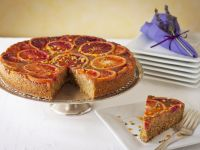 Semolina Cake with Blood Oranges recipe