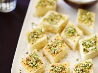 Semolina Syrup Cake with Pistachios recipe