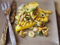 Semolina Triangles with Mixed Mushrooms recipe