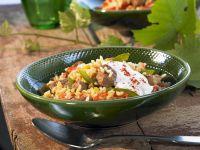 Serbian Style Pork and Rice recipe