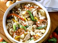 Serbian-Style Vegetable Rice with Lamb (Djuvec) recipe