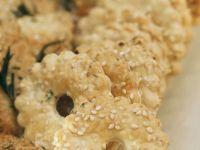Sesame and Sea Salt Crackers recipe