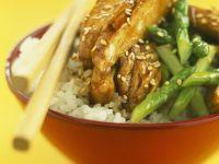 Sesame Chicken Bowl recipe