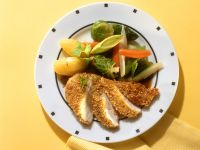 Sesame Chicken with Mixed Vegetables recipe