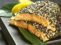Sesame Crusted Salmon recipe