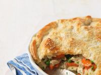 Sesame Pastry and Chicken Bake recipe