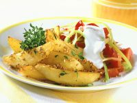 Sesame Potatoes with Peppers recipe