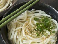 Sesame Udon Soup recipe