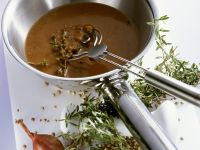 Shallot and Peppercorn Sauce recipe