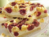 Sharp Berry Cake Squares recipe