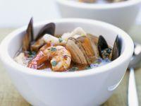 Shellfish and Prawn Broth recipe
