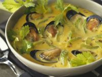 Shellfish Broth with Celery recipe