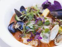 Shellfish En Brodo recipe