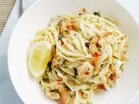 Shellfish Pasta Bowl with Lemon recipe