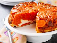Shortcrust Pastry Tart with Carrot and Ricotta recipe
