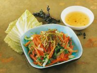 Shredded Asian Salad Bowl recipe