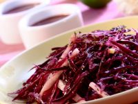 Shredded Cabbage Dish recipe
