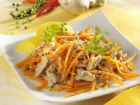 Shredded Carrot Salad with Tuna recipe