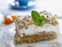 Greek Pastry Layered Cream Desserts recipe