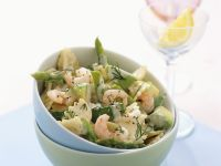 Shrimp and Asparagus Pasta recipe