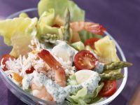 Shrimp and Crab Salad Bowl recipe