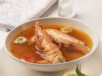 Shrimp and Lobster Soup recipe