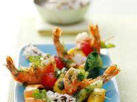 Shrimp and Mango Kebabs recipe