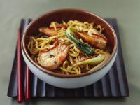 Shrimp and Noodle Stir-fry recipe