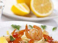 Shrimp and Pepper Pasta recipe